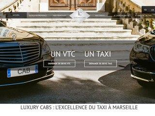 Luxury cabs Marseille