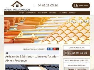 Artisan de la façade à Aix-en-Provence