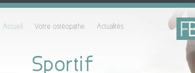 Ostéopathe D.O Nice, Fabien Brayer