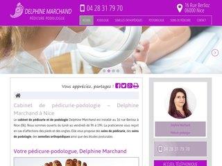 Cabinet de podologie Delphine Marchand à Nice
