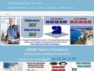 Henry Martini Plomberie