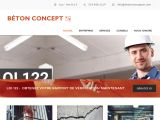 Spécialiste en réparation du béton: Béton Concept AM