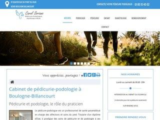 Cabinet de podologie à Boulogne-Billancourt