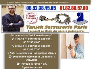 YANICK SERRURERIE PARIS