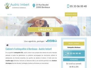 Ostéopathe spécialiste en mal de dos à Bordeaux