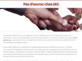 Site web qui rétablis la vérité sur Gestion IAG