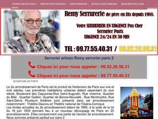 Remy serrurier