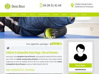 Cabinet d'ostéopathie Denis Bogo à Aix-en-Provence