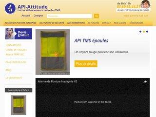 API-Attitude : Prévention des TMS en Entreprise