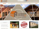 La maison en bois, fabricant en Auvergne et Rhône Alpes