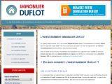 Immobilier Duflot : investir en Duflot 2013