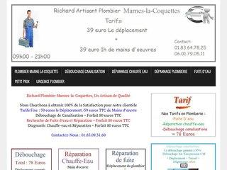 Plombier Marnes-la-Coquette