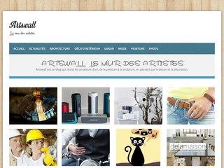Artswall: l'entrée dans le monde des artistes