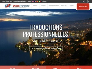 Swisstranslate Traduction