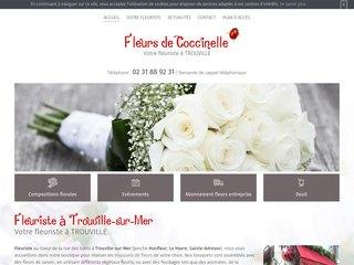 Bouquet de fleurs Honfleur