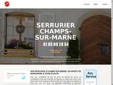 Serrurier Champs-sur-Marne