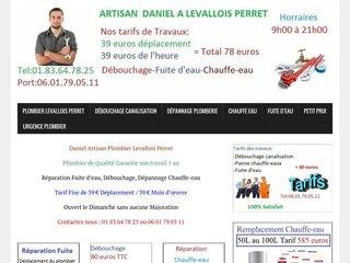 Plombier de quartier Levallois-Perret