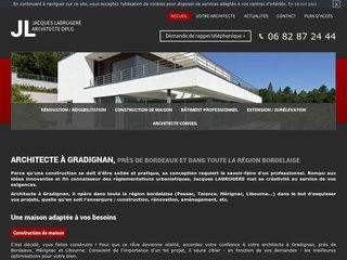 Architecte construction maison moderne Bordeaux